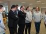 Besuch des Kultusministers Grant Hendrik Tonne