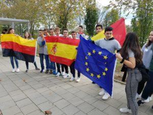 Europa erleben an der Sally-Perel-Gesamtschule