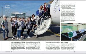 Beitrag zur Erasmus+ Schulpartnerschaft im VIERVIERTELKULT
