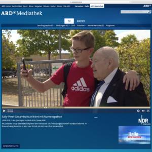 NDR & Radio 38 berichten von der Schulumbenennung