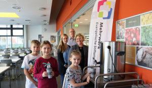 "Sally-Perel-Gesamtschule und Mehrwerk gGmbH starten Projekt ""Clever trinken"""
