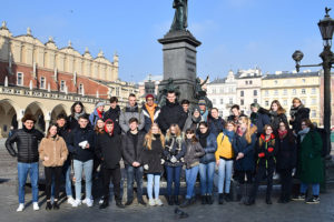 Studienfahrt Polen 2019 in die Gedenkstätte Auschwitz