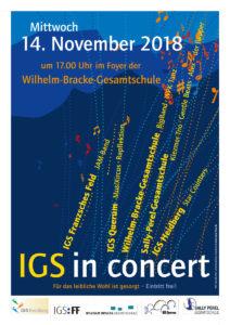 IGS in concert 2018