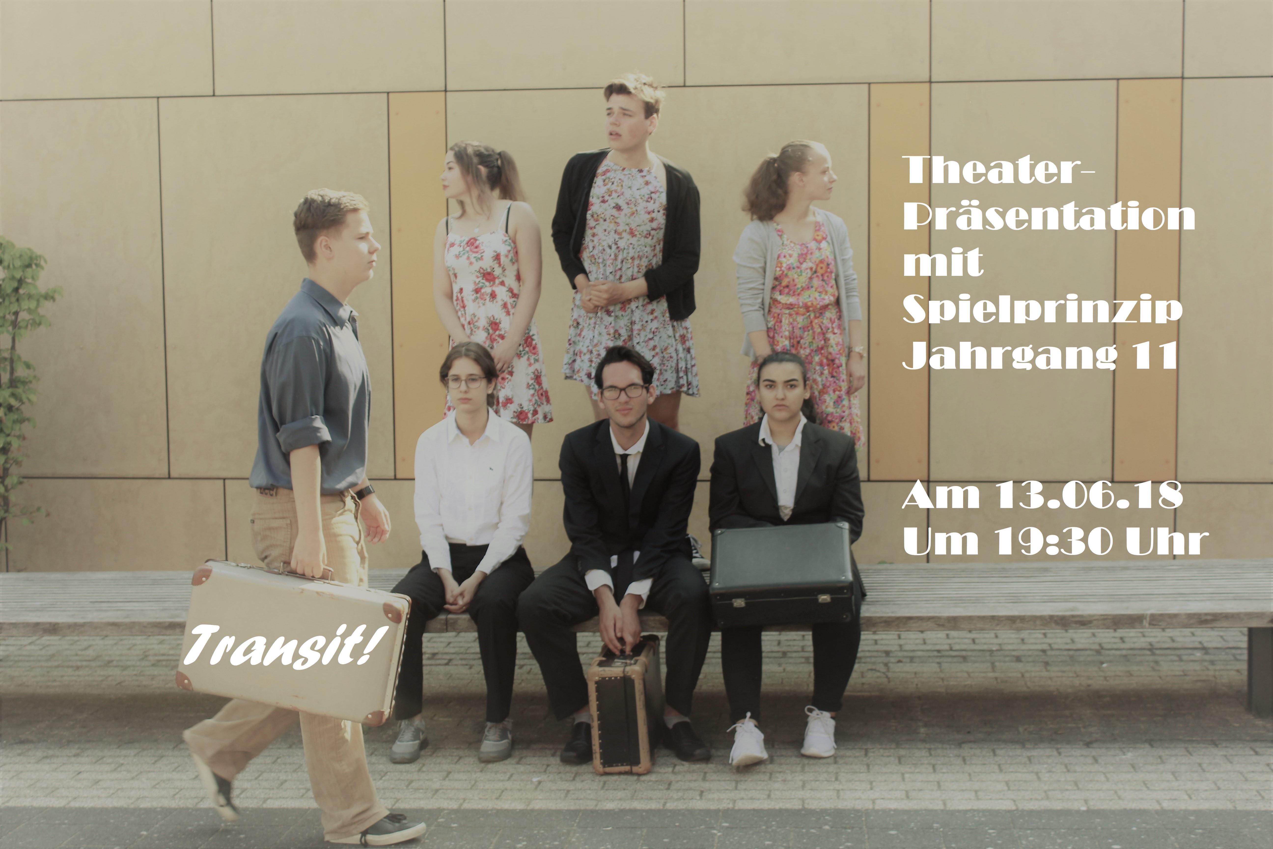 Transit! Theaterpräsentation mit Spielprinzip des 11. Jahrgangs