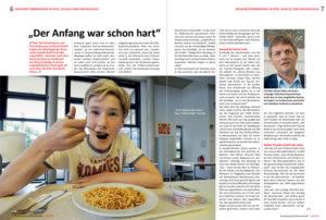 Gesunde Ernährung in der Sally-Perel-Gesamtschule