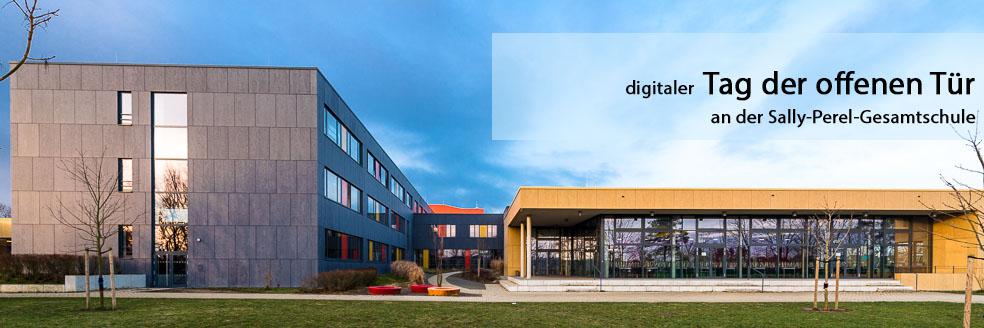 digitaler Tag der offenen Tür an der Sally-Perel-Gesamtschule